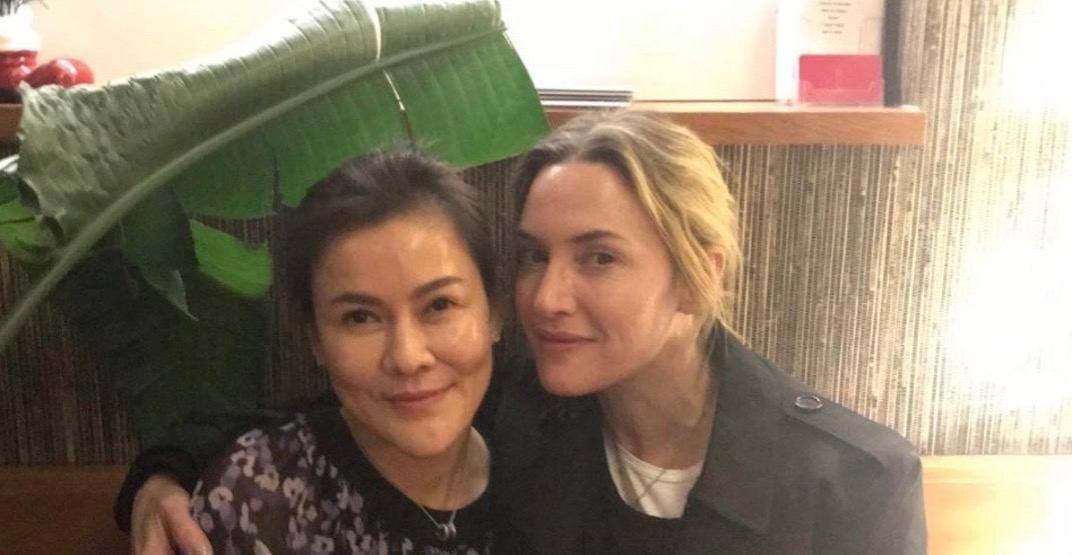 Kate Winslet spotted dining in Kitsilano last night (PHOTOS)