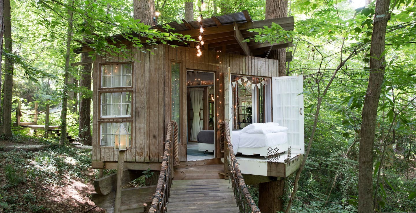 Secluded Intown Treehouse in Atlanta (Airbnb)