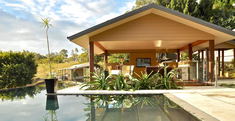 Luxury Gold Coast Hinterland Villa on Mount Nathan, Australia (Airbnb)