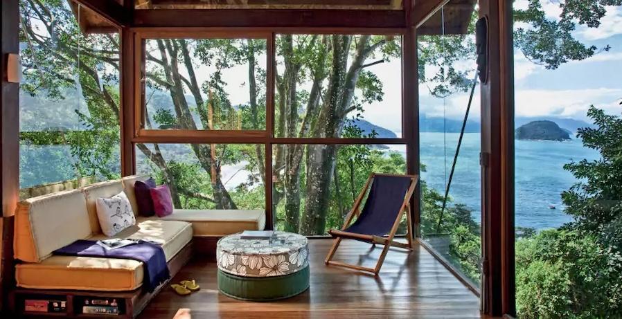 Casa com vista - Praia do Félix in Ubatuba, Brazil (Airbnb)