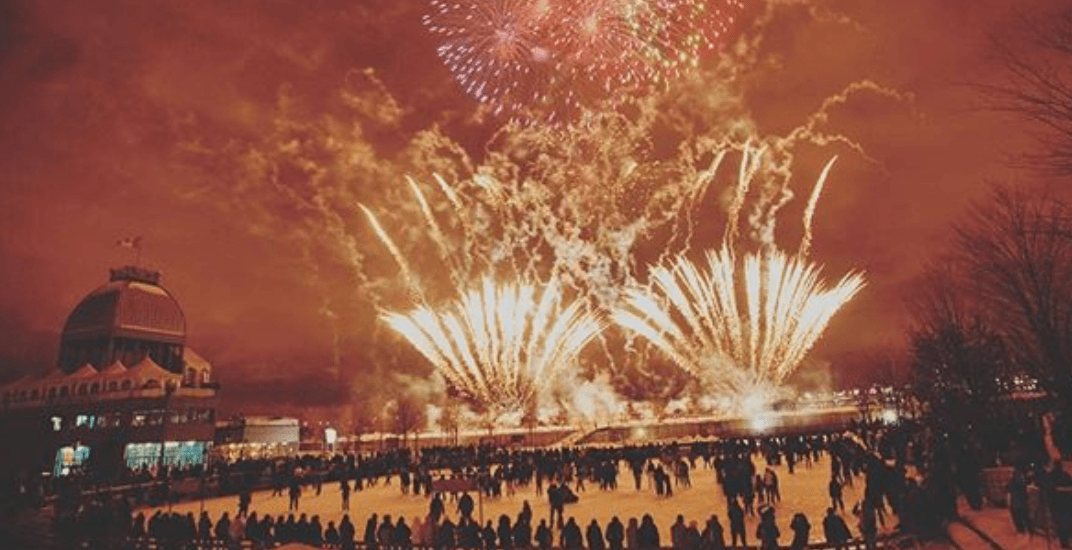 11 dazzling photos to get you excited for the Old Port fireworks this winter