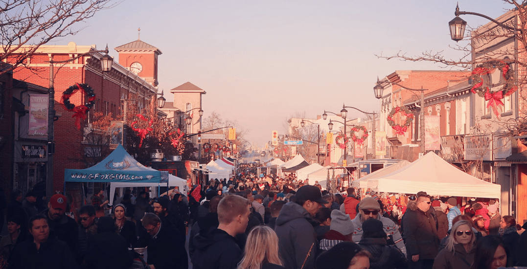 Tomorrow is the final day to check out the free Milton Holiday Street Market