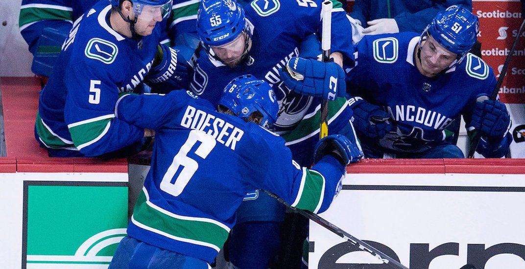 Boeser injury