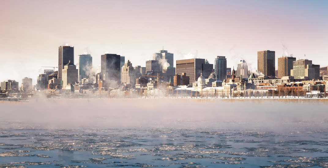 It feels like -21°C in Montreal this morning