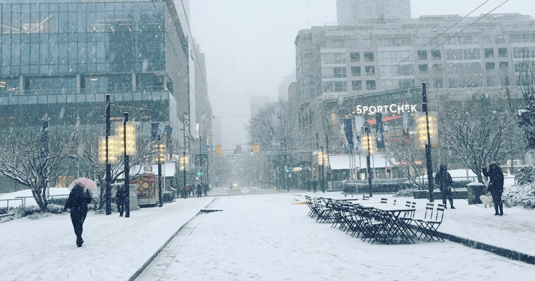 Proof that Vancouver is ridiculously over dramatic whenever it snows
