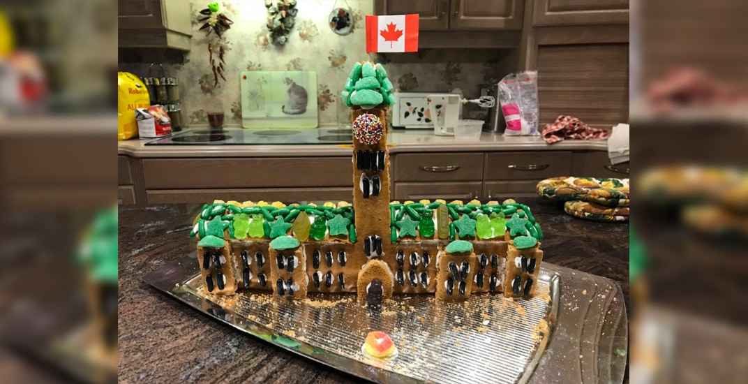Someone made a giant Parliament Building gingerbread house (PHOTO)