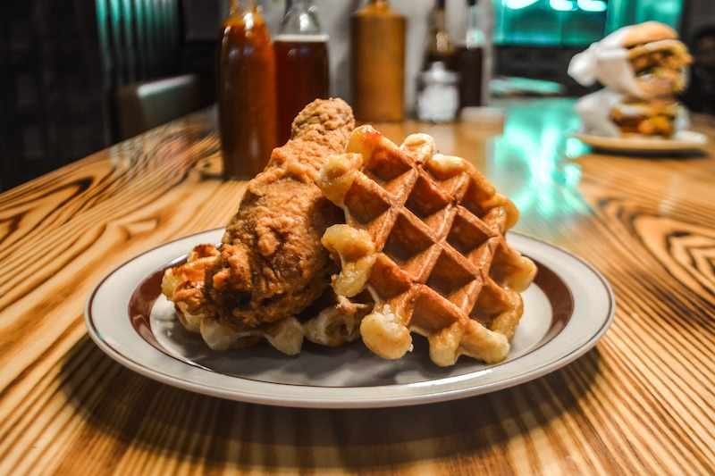 Juke_Fried Chicken and Waffles