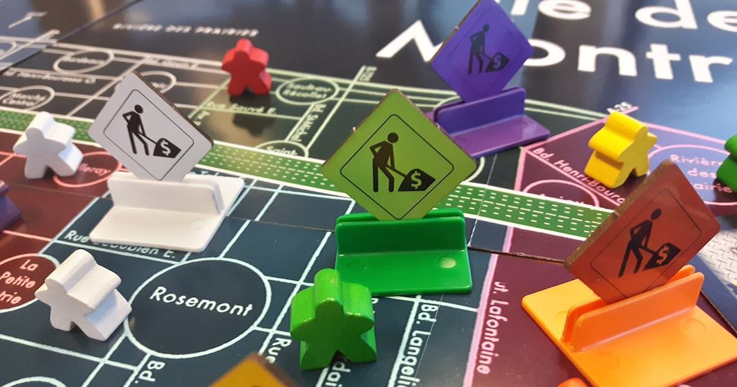 Montreal officially has its very own board game