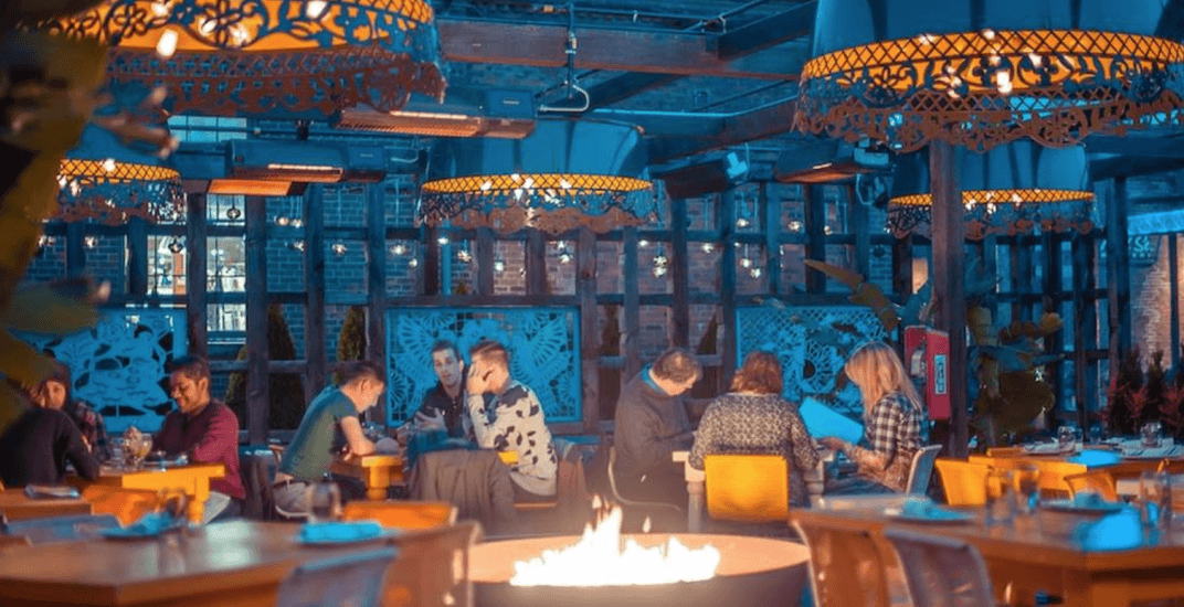 Where to warm up on a heated patio in Toronto this winter