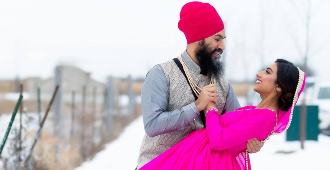 Rokha'd up: NDP leader Jagmeet Singh celebrates 'pre-engagement'