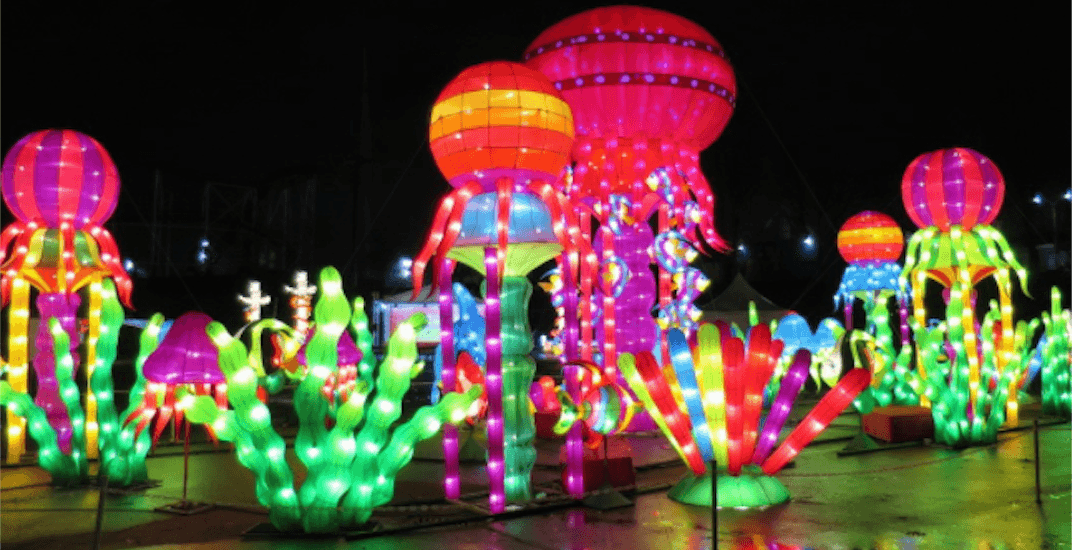 Canada's largest Chinese Lantern Festival is lighting up the PNE (PHOTOS)