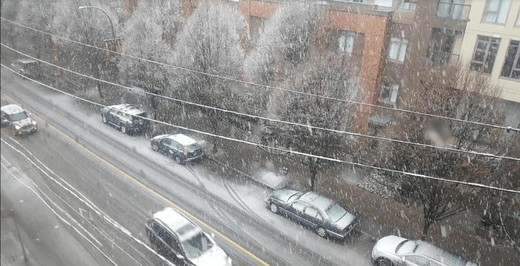 Special weather statement calls for possible snowfall in Metro Vancouver