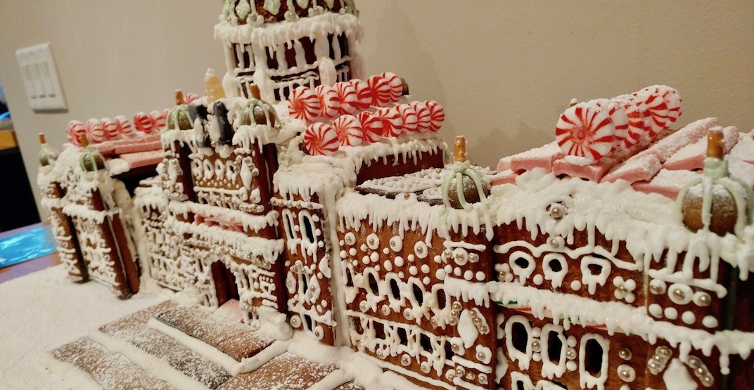 This BC Parliament gingerbread house replica is insane (PHOTOS)