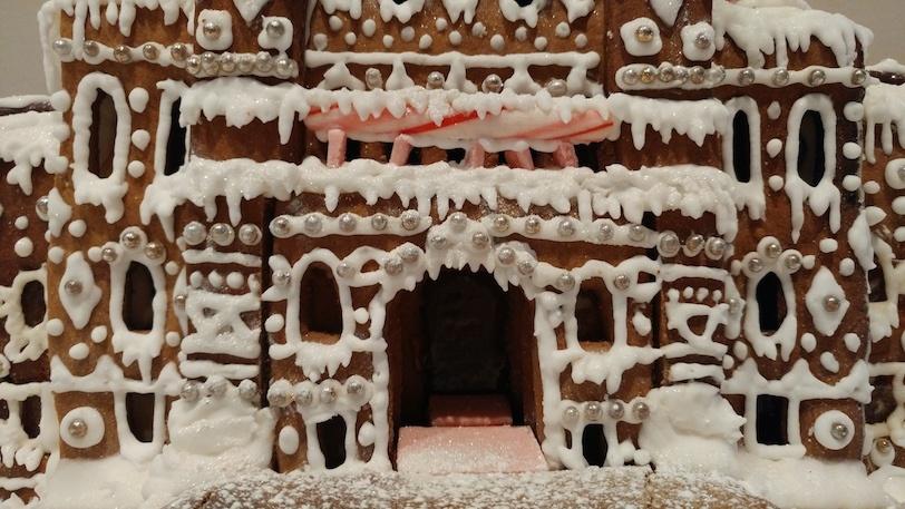 BC Parliament Gingerbread House