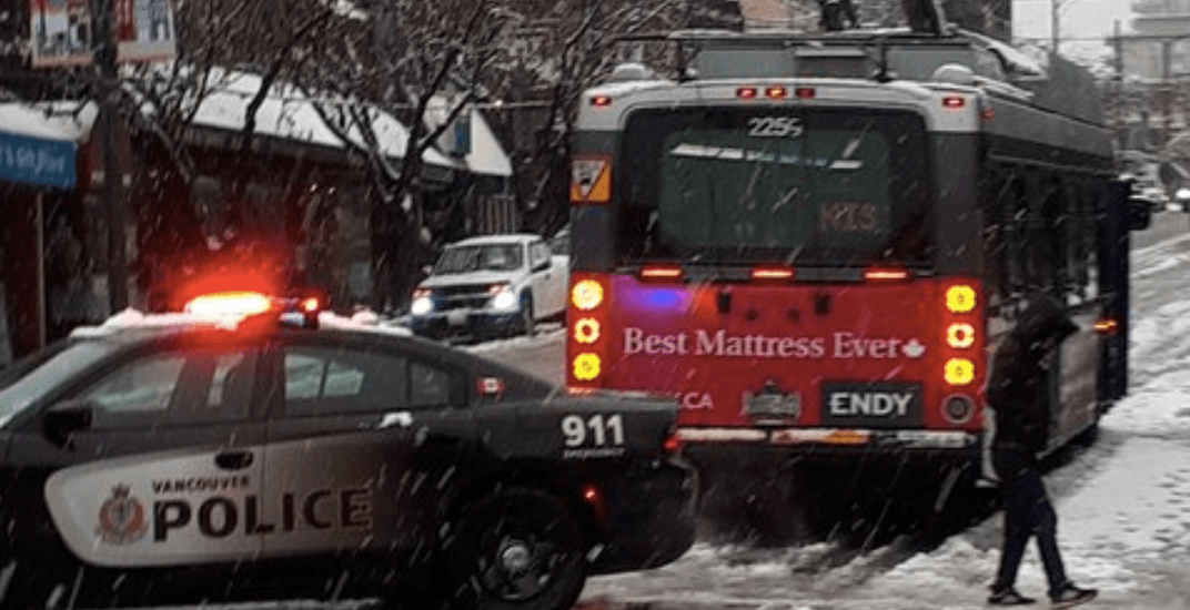 Vancouver snow causes mayhem for buses (PHOTOS)