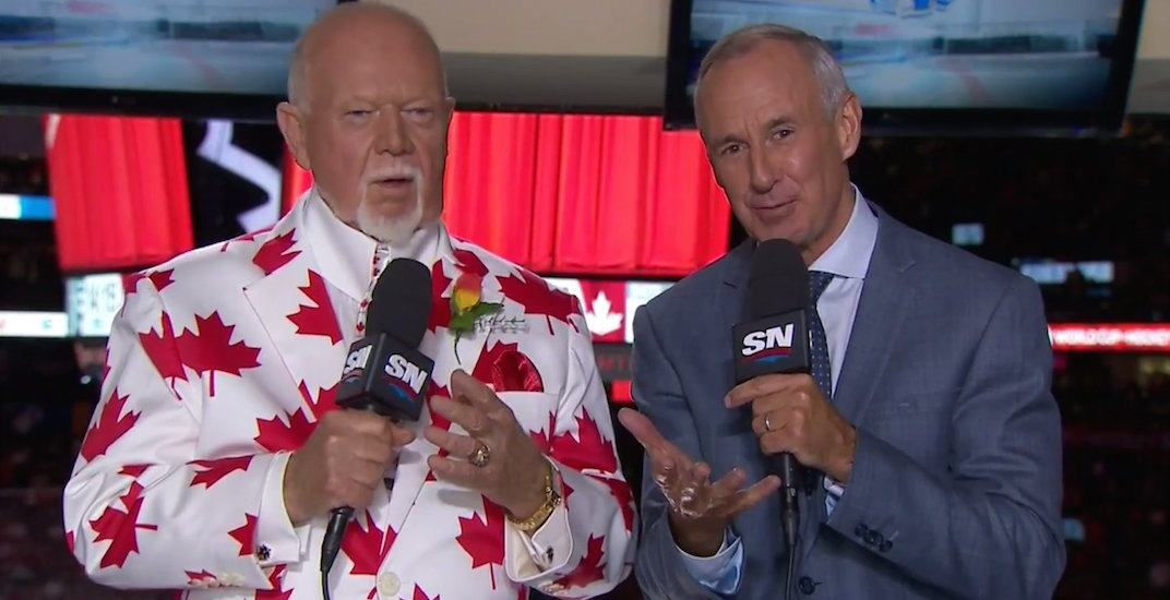 Don cherry ron maclean