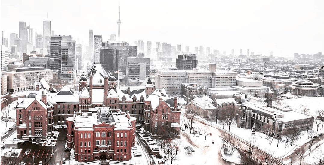 Toronto could be hit with up to 10 cm of snow this weekend