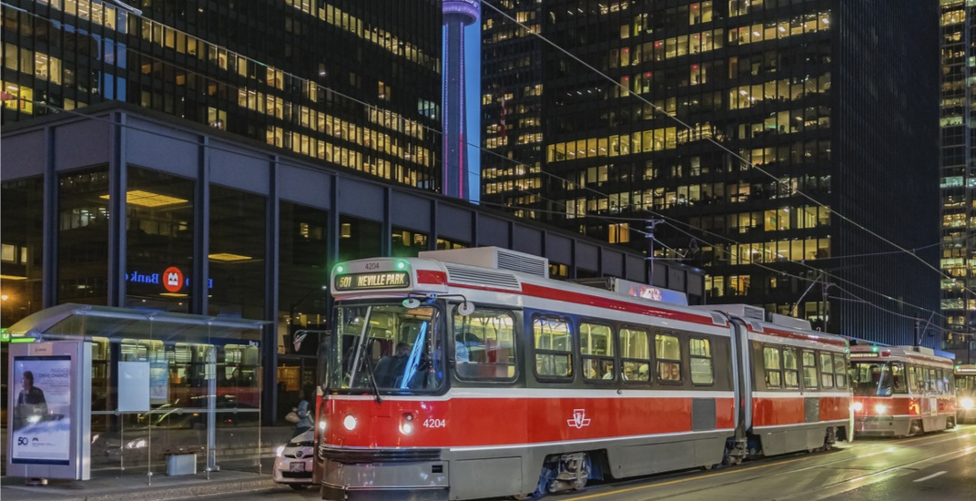 This is the TTC's holiday service schedule