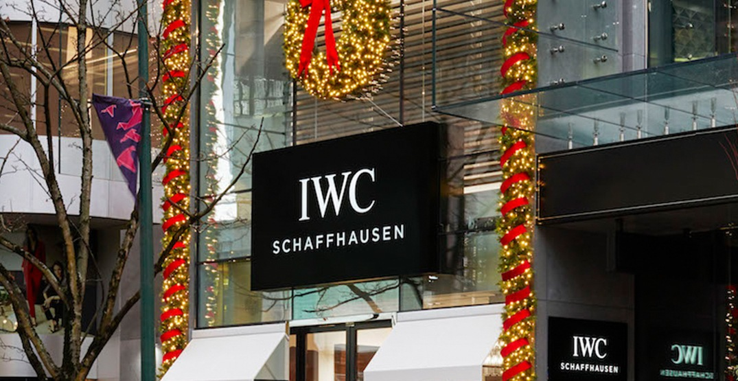 Swiss luxury watchmaker IWC Schaffhausen opens Vancouver location (PHOTOS)