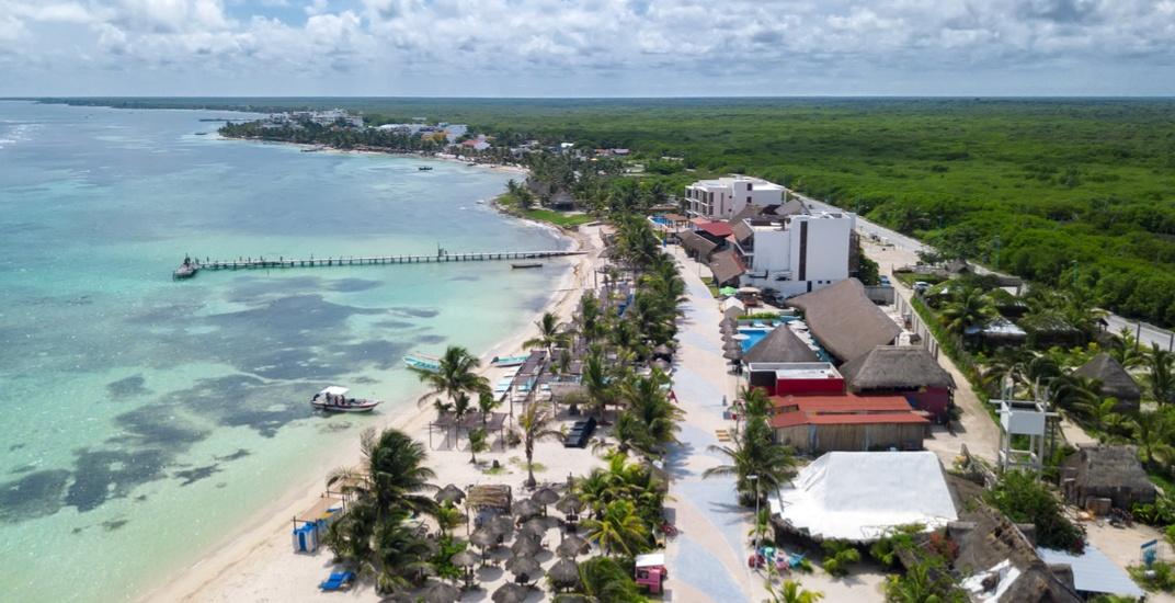 Mahahual on the costa maya south of playa del carmen mexico alice nerrshutterstock
