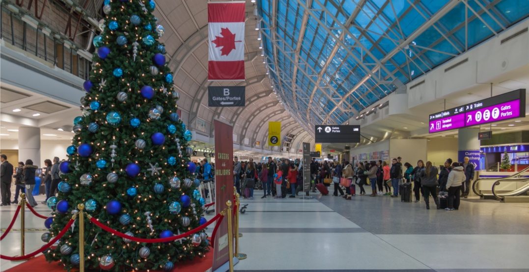 Today is the busiest travel day of the season at Pearson Airport