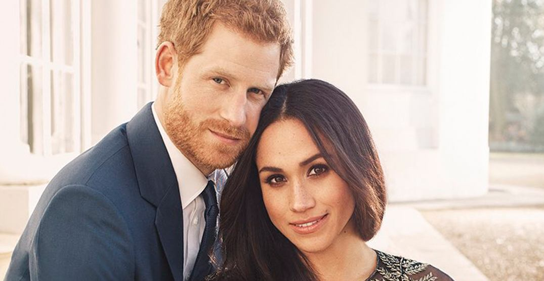 Harry meghan Engagement Photos