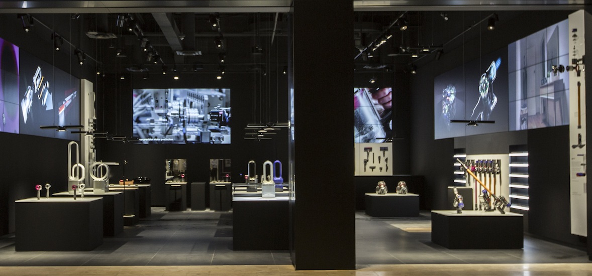Dyson just opened its first Canadian Demo store in Toronto