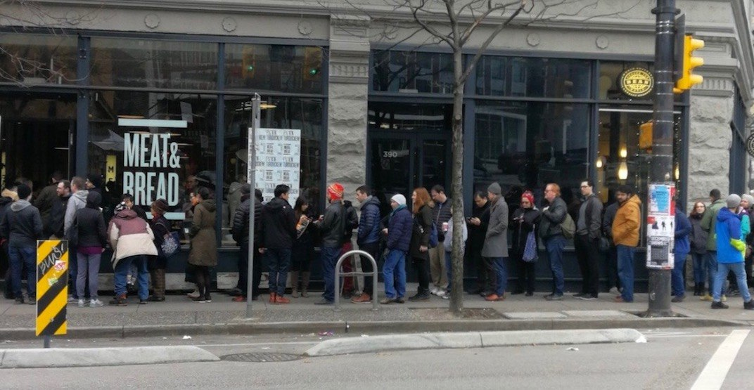 The lines for Meat and Bread's Turducken Sandwich are massive (PHOTOS)