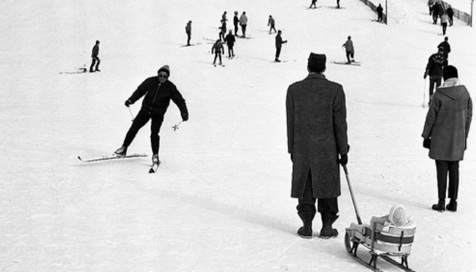 Skiing Mount Royal/ Archives Montreal