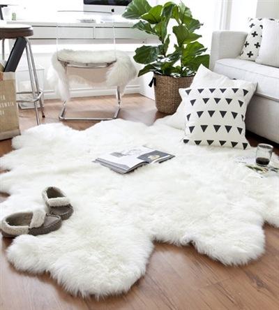 Sexto Ivory Sheepskin / Sheepskin Stuff