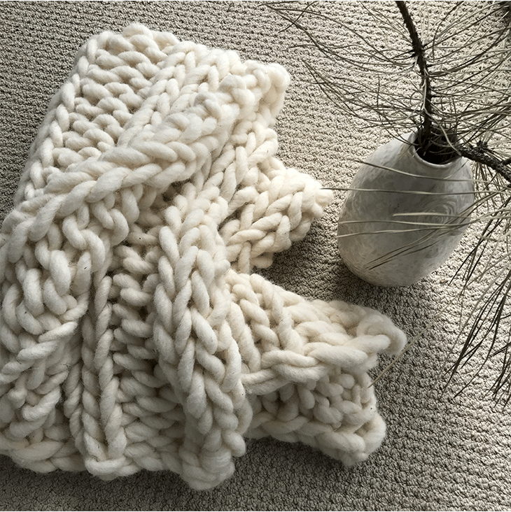 Ena Wool Knit / Natural Wool Knits