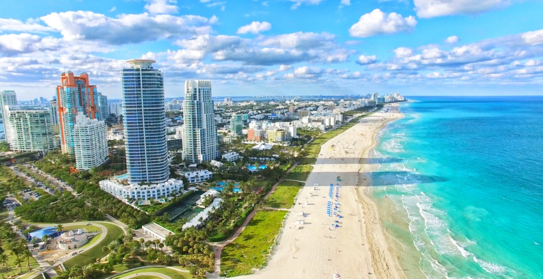 You can fly from Vancouver to Miami for $285 this winter