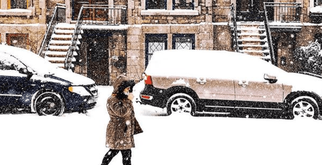 Snowfall and freezing rain warning in effect for Montreal