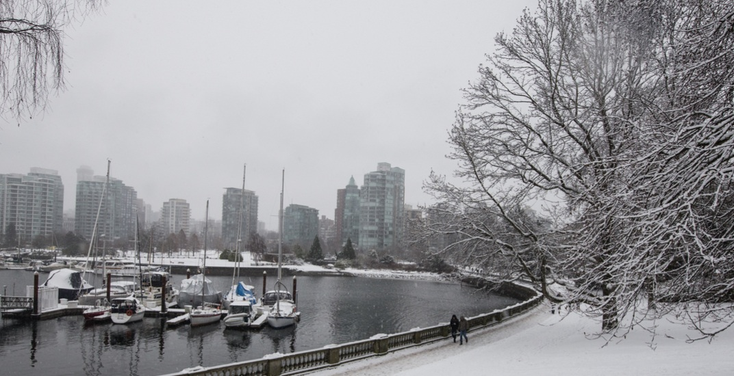 Just in time for Christmas: Snow forecast for Vancouver this weekend