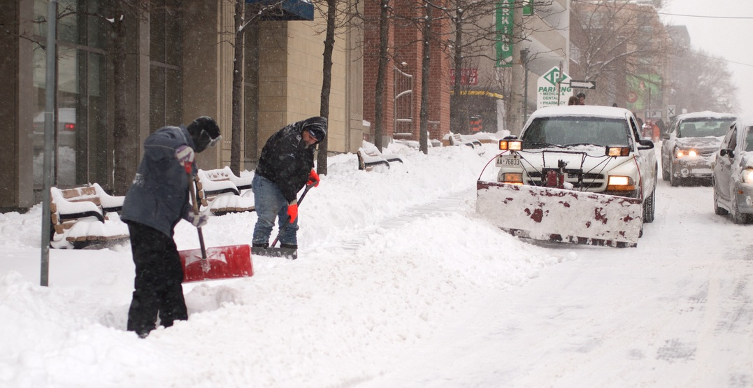 You must clear your sidewalk within 12 hours of snowfall to avoid a fine in Toronto