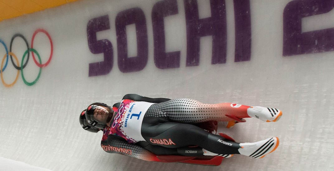 Canada luge double