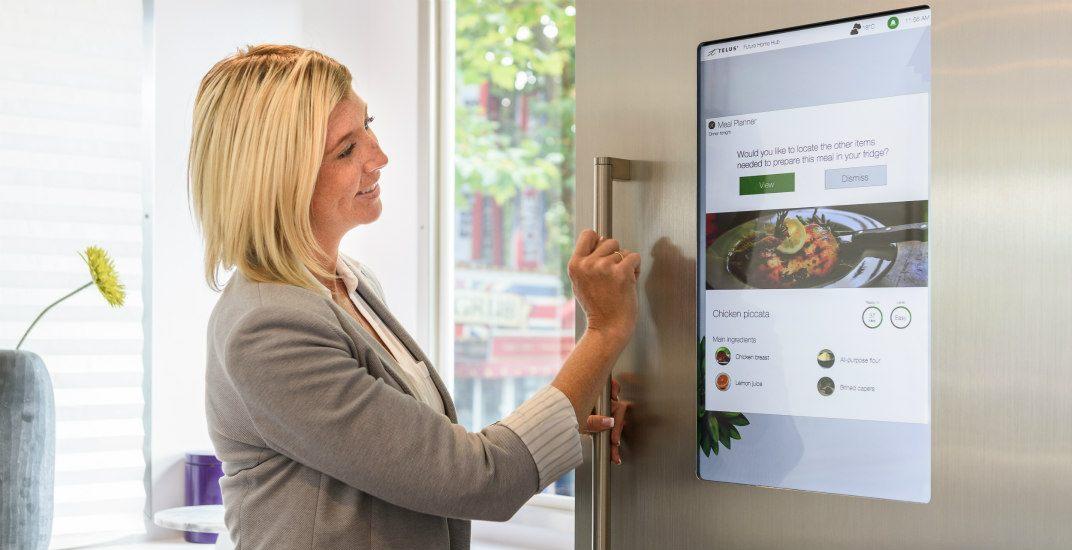 Smart fridgetelus