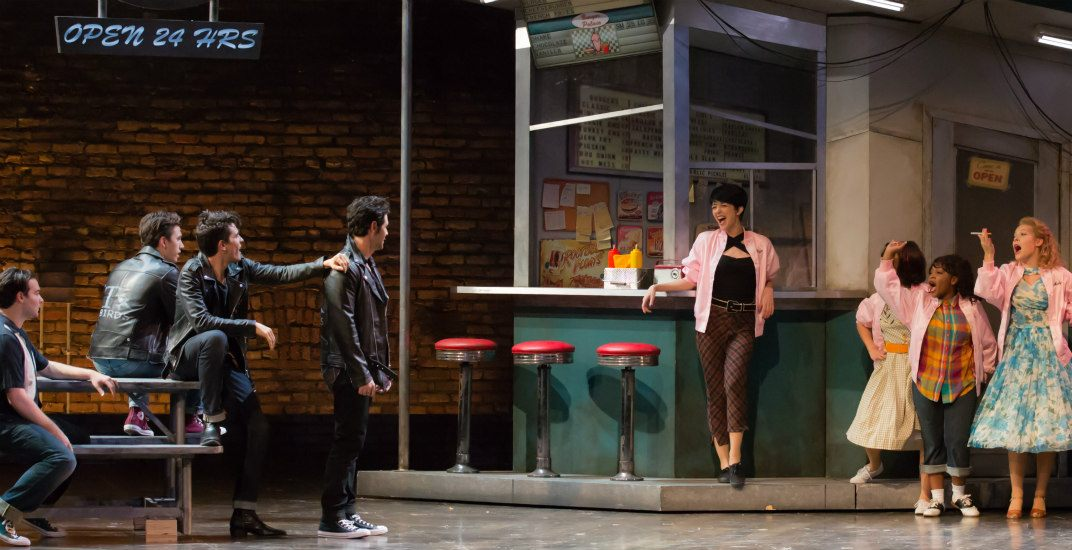 Diner scenegrease the musical