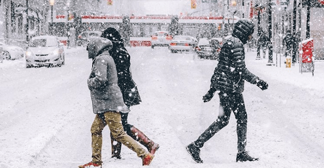Environment Canada has now issued a Snowfall Warning for Toronto