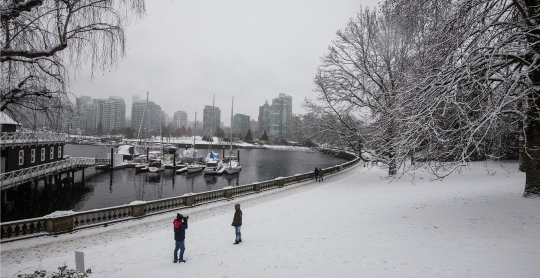 Vancouver could get hit with snow every day this week