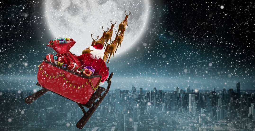 NORAD Tracker: Where in the world is Santa Claus right now?