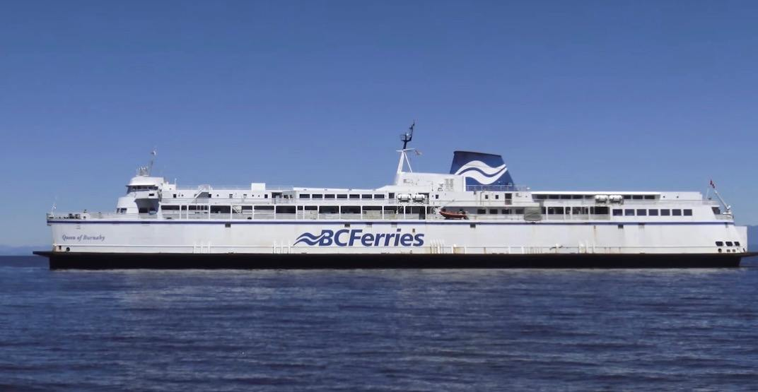 BC Ferries sailings delayed between Vancouver and Victoria this morning due to protest