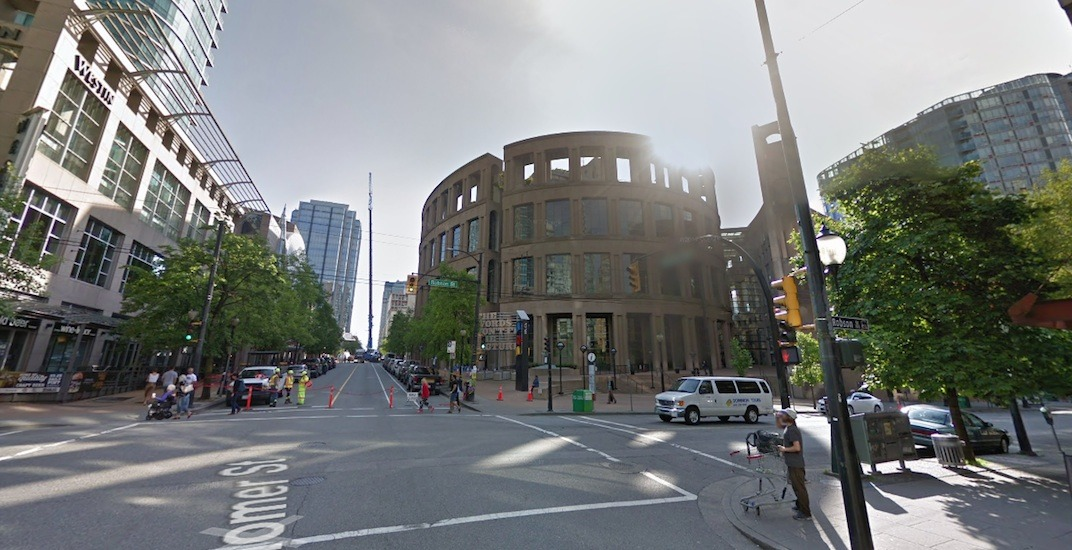 Vancouver public library robson howe