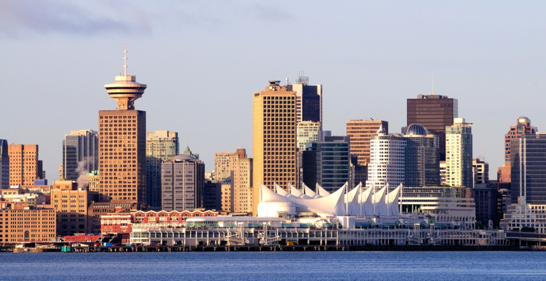 Vancouver skyline canada place