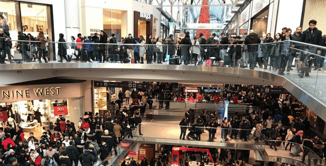 Boxing Day shopping was absolutely insane across Canada this year (PHOTOS)