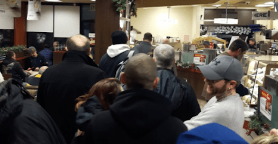 Canadians were desperately searching for an open Tim Hortons on Christmas Day