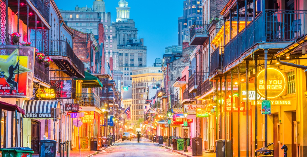You can fly from Toronto to New Orleans for under $175 this winter