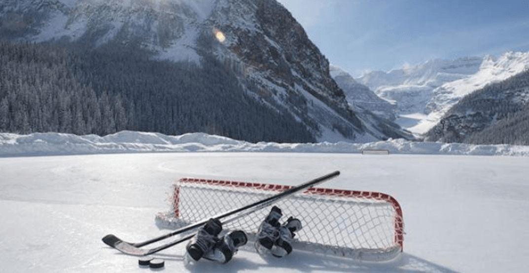 Canadian Bucket List: Play pond hockey in the Rocky Mountains (PHOTOS)