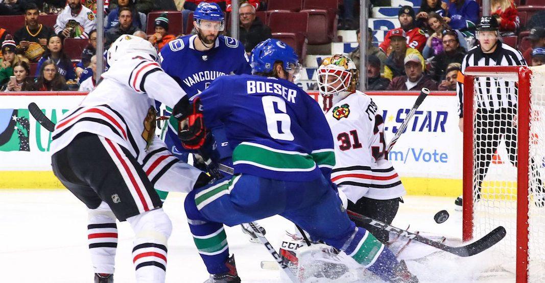 SixPack: Boeser's new line dominates in Canucks win over Blackhawks