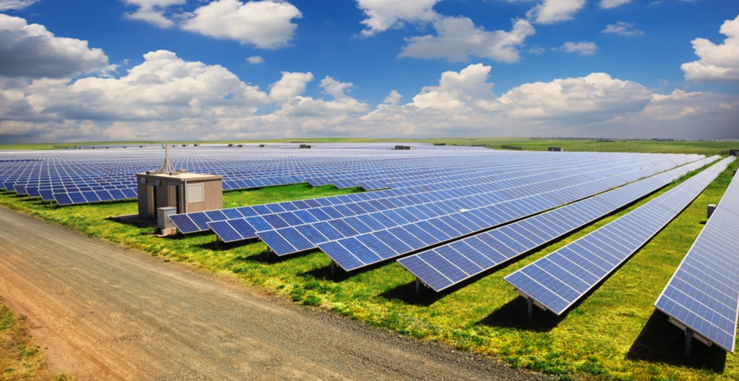 Alberta is now home to Western Canada's largest solar power farm